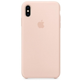 "Apple iPhone XR dėklas ""Silicone case"" (pink sand) (originalus)"