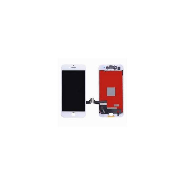 Apple iPhone 7 LCD ekranas su liečiamu stikliuku (baltas) (aukšta kokybė)