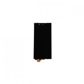 Sony Xperia Z5 E6603 / Xperia Z5 E6653 / Xperia Z5 Dual E6683 LCD ekranas su liečiamu stikliuku (juodas) (originalus)