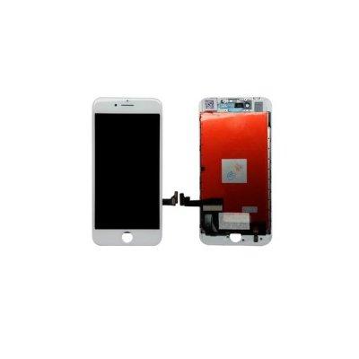 Apple iPhone 8 Plus LCD ekranas su liečiamu stikliuku (baltas) (aukšta kokybė)