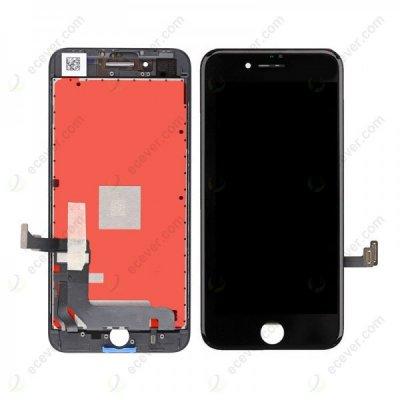 Apple iPhone 8 Plus LCD ekranas su liečiamu stikliuku (juodas) (aukšta kokybė)