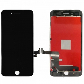 Apple iPhone 7 Plus LCD ekranas su liečiamu stikliuku (juodas) (refurbished, originalus)