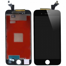 Apple iPhone 6S LCD ekranas su liečiamu stikliuku (juodas) (refurbished, originalus)