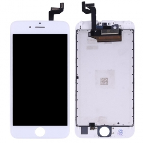 Apple iPhone 6S LCD ekranas su liečiamu stikliuku (baltas) (refurbished, originalus)