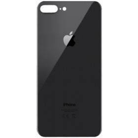 Apple iPhone 8 Plus galinis dangtelis pilkas (space grey) (aukšta kokybė)