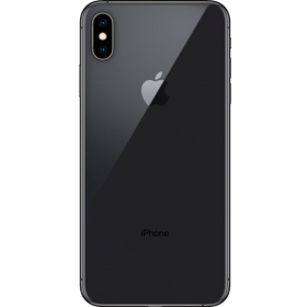 Apple iPhone XS Max galinis dangtelis pilkas (space grey) (originalus)