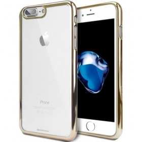"Apple iPhone 6 Plus / 6S Plus dėklas Mercury Goospery ""Ring 2"" (rožinis / auksinis)"
