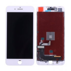 Apple iPhone 8 Plus LCD ekranas su liečiamu stikliuku (baltas) (refurbished, originalus)