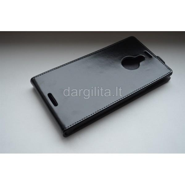 Nokia 1520 Lumia dėklas, elegance, juodas