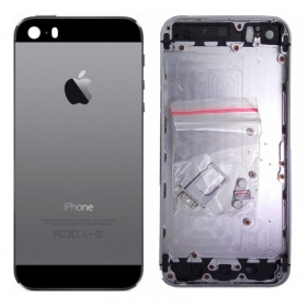 Apple iPhone 5S galinis dangtelis pilkas (space grey)